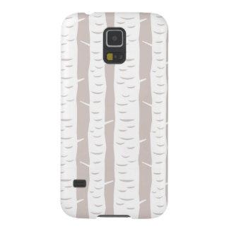 Rustic Birch Tree Pattern Samsung Galaxy Nexus Cases