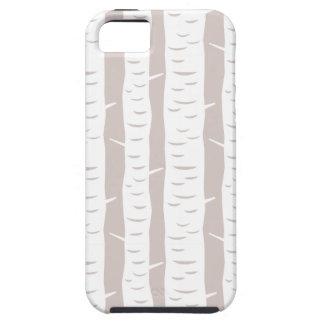 Rustic Birch Tree Pattern iPhone SE/5/5s Case
