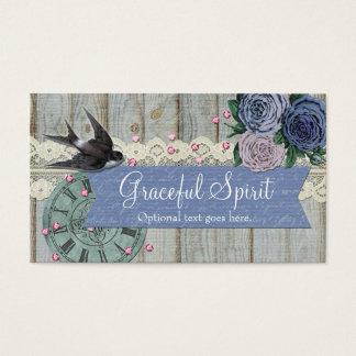 Rustic Bird Vintage & Crafting - Graceful Spirit Business Card