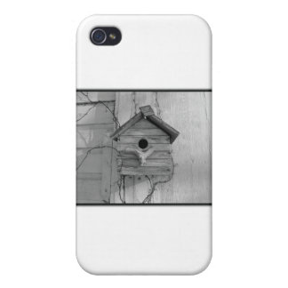 Rustic Birdhouse Cover For iPhone 4