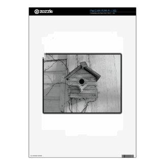 Rustic Birdhouse Skin For iPad 2
