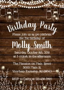 bbq birthday invitations zazzle