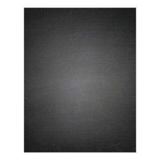Rustic Black Chalkboard Printed Full Color Flyer