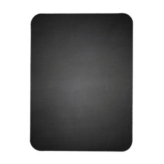 Rustic Black Chalkboard Printed Magnet