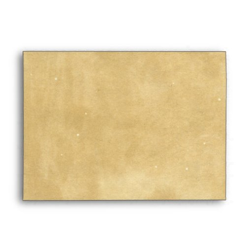Rustic Blank Antique Aged Paper Envelopes