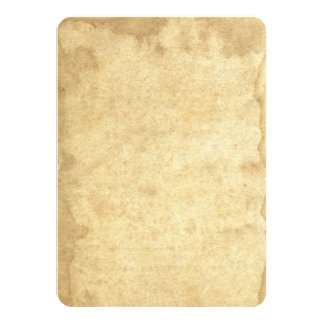 Rustic Blank Stained Aged 1823 Antique Inspired Card