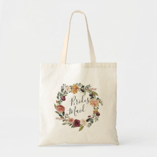 Rustic Bloom | Bridesmaid Tote Bag