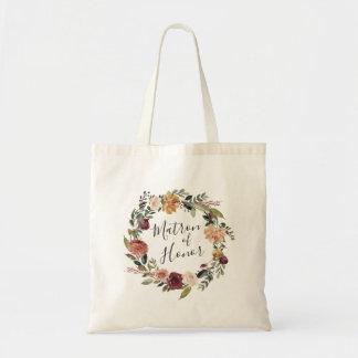 Rustic Bloom   Matron of Honor Tote Bag