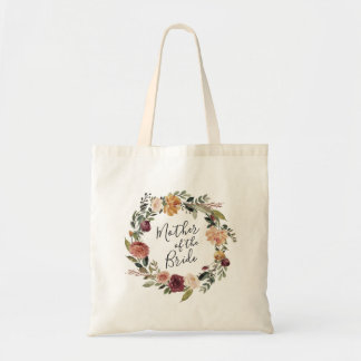 Rustic Bloom | Mother of the Bride Tote Bag