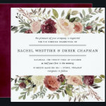 """Rustic Bloom Wedding Invitation 