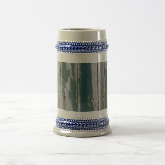 Rustic Blue Beer Stein
