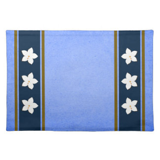 Rustic Blue Floral MoJo Table Place Mats