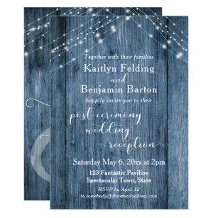 Post Wedding Reception Invitations Zazzle