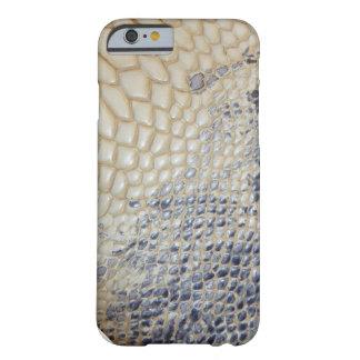 rustic blue snake skin pattern iPhone 6 case