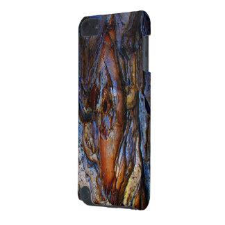 Rustic Blue Textured iPod Touch Case