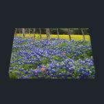 "Rustic Bluebonnets Canvas Print<br><div class=""desc"">Taken in Brenham Texas.</div>"