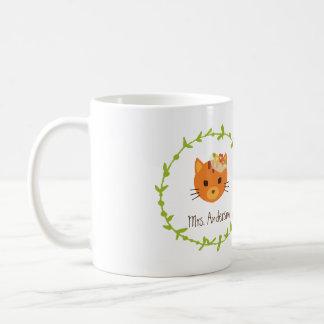 Rustic Boho Forest Cats Wedding Invitation Coffee Mug