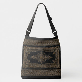 Rustic Book Cover Bags Rose Gold Grunge
