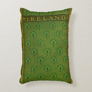 Rustic Book Cover Cushions Ireland Shamrock