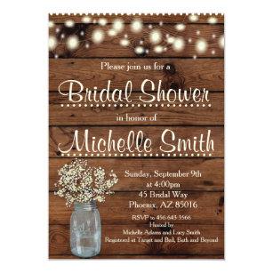 Bridal Shower Invitations | Zazzle