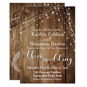 brown wedding invitations zazzle