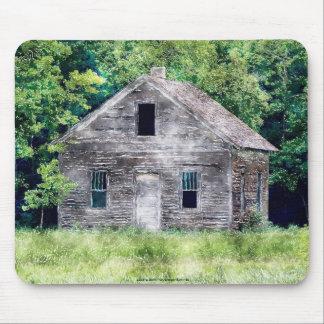 Rustic Buildings, Farmhouse Architecture Mousepad