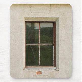 Rustic Buildings, Window Architecture Mousepad