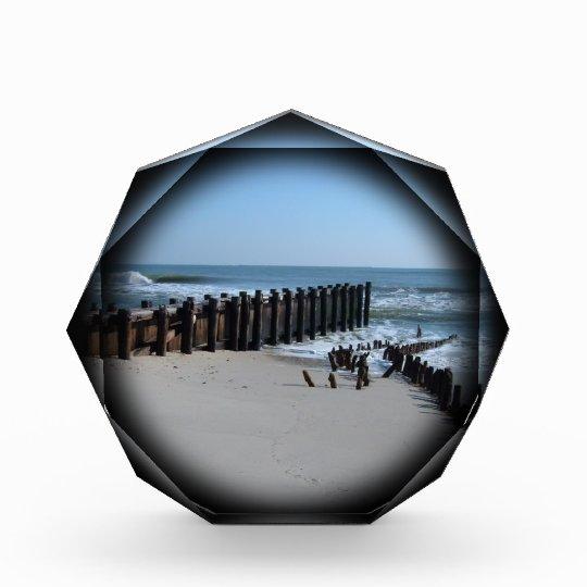 Rustic Bulkhead on Beach Award
