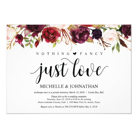 Reception Invites