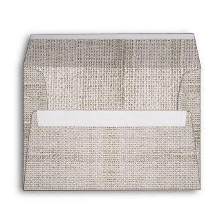rustic burlap envelopes