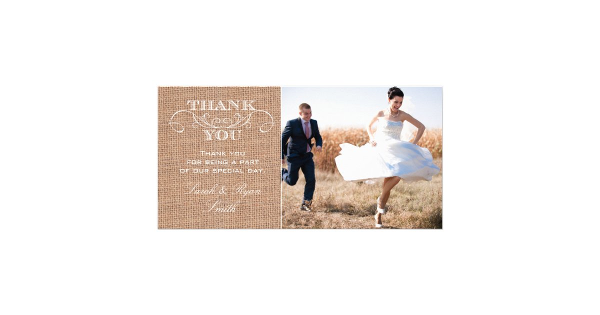 Wedding Thank You Photocards – Zazzle Wedding Thank You Cards
