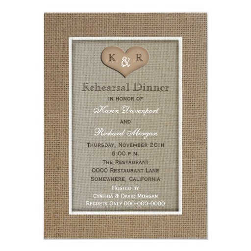 Rustic Rehearsal Dinner Invitations correctly perfect ideas for your invitation layout