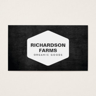 RUSTIC BUSINESS CARD FOR FARMERS, FARMS
