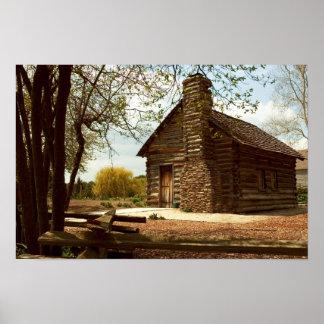 Rustic Cabin Print