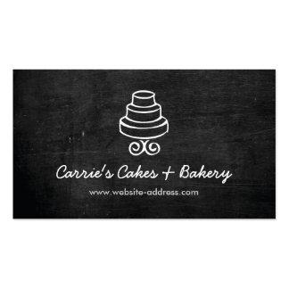 RUSTIC CAKE LOGO Business Card