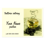 rustic catering  business card