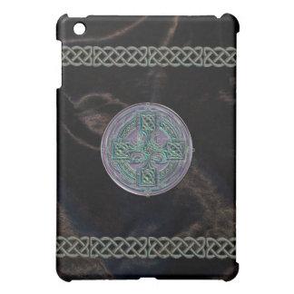 Rustic Celtic Metal and Fabric Look  iPad Mini Cover