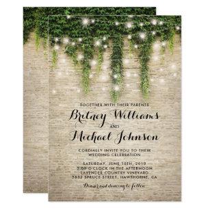 Vineyard Wedding Invitations Zazzle