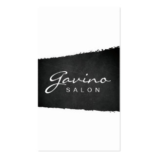 Rustic Chic Chalkboard Banner Business Card