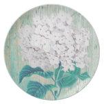 rustic chic, decorative and elegant plate