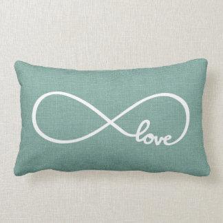 Rustic Chic Love Lumbar Pillow