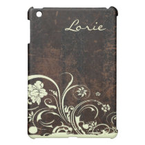Rustic Chic Scuffed Leather Look Cover For The iPad Mini