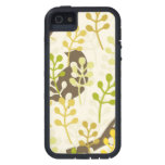 Rustic chic sparrow swallow bird shabby pattern iPhone 5 cases