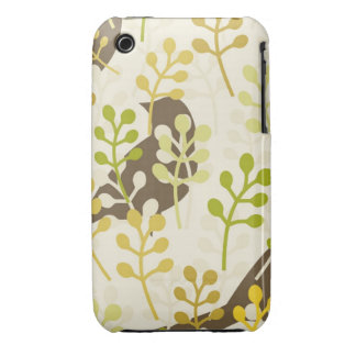 Rustic chic sparrow swallow bird shabby pattern Case-Mate iPhone 3 cases