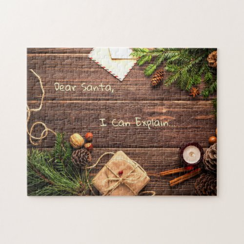 Rustic Christmas Puzzle