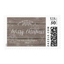 Rustic Christmas Stamp