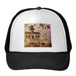 Rustic Church in Fall Trucker Hat