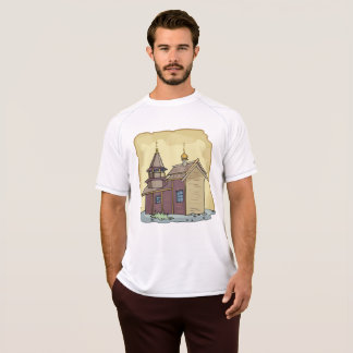Rustic Church Mens Active Tee