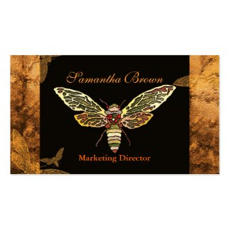 Rustic Cicada Professional Business Cards