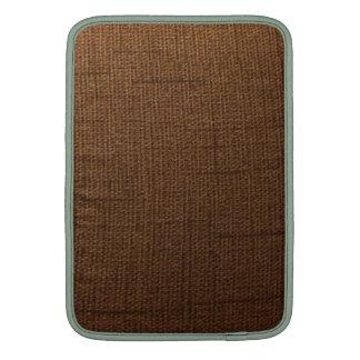 Rustic cloth sleeves for MacBook air